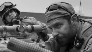 """American Sniper"" is directed and produced by Clint Eastwood and stars Bradley Cooper in a controversial war film adaptation of the book by the same name by Chris Kyle.  (photo courtesy of teaser-trailer.com)"