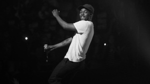 "Kendrick Lamar's third album, ""To Pimp a Butterfly"" was leaked more than a week before its release date.  (Photo courtesy of qz.com)"