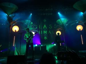 Photo by Krista DeJulio Glass Animals, a British indie-rock band played at House of Blues Boston Saturday, October 17 to a wild crowd.
