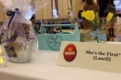 The front table was neatly displayed to celebrate International Women's Month.
