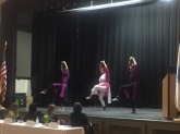 A special performance of a classical India dance form was done by Pallavi Nagesha, Amartya Nagesha and Christine Francis.