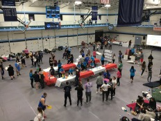 Participants enjoy carnival themed games throughout the night in an effort to raise money for cancer.