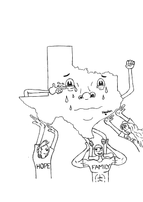 Houston Cartoon