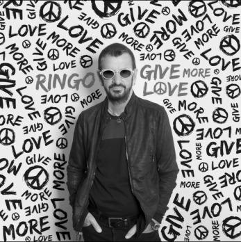 Ringo Starr Grayscale