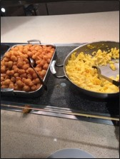 Valentine Dining Hall's tater tots and eggs are usually a breakfast favorite among students.