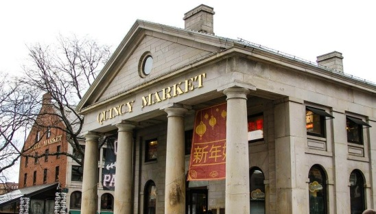 Quincy market winter