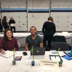 Lasell Environmental Action Force --- Lisa D'Angelo, Armando Machado Jr.