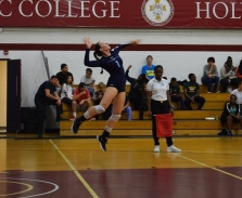 All-GNAC 2nd Team Olivia Addington; women's volleyball.