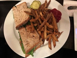 Brewers Coalition's grilled chicken and avocado sandwich ($12.95). Photo by Mackenzie Dineen