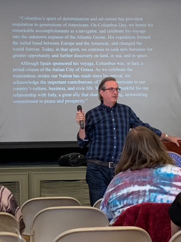 Michael Oberg is a Professor of History at SNUY Geneseo. Photo by Taylor Viles.